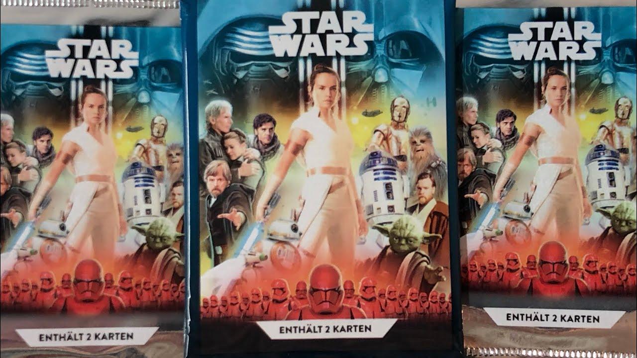 Star Wars Sammelkarte Kaufland Nr.34 Luke Skywalker