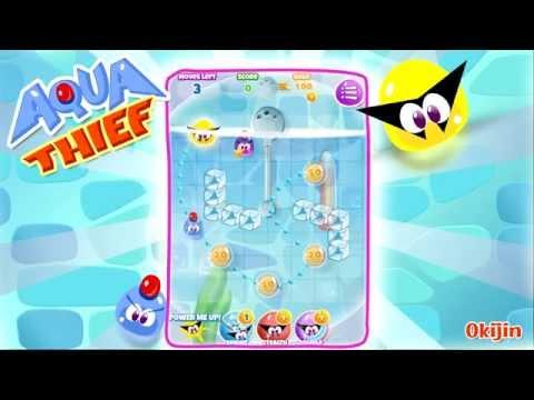 Aqua Thief - Puzzle Game Trailer