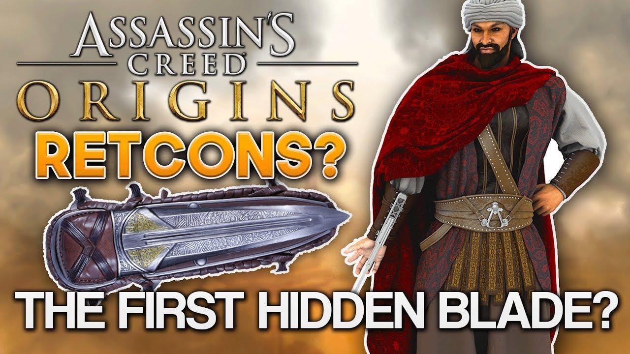 Assassin S Creed Huge Retcons The First Hidden Blade Darius