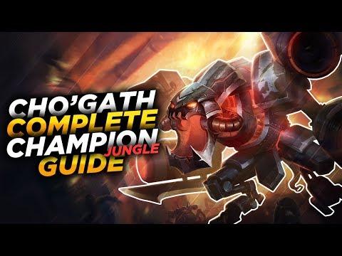 Cho'Gath: NOM NOM NOM - League of Legends Champion Guide [SEASON 7]