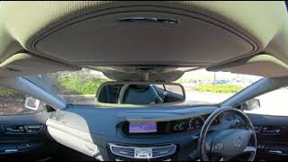 360° All Round Interior View of a 2011 Mercedes-Benz CL 4.7 CL500 BlueEFFICIENCY