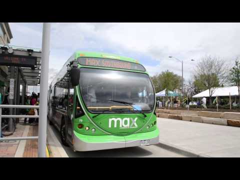 Fort Collins MAX Transit Opening Day at Colorado State