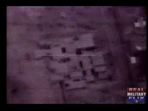 Desert Storm Smart Bombs Hit Targets Compiliation Video