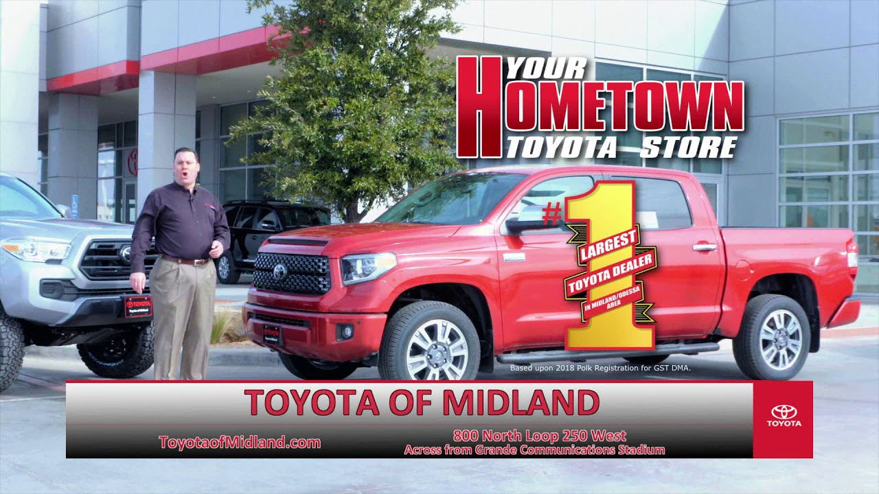 Toyota Of Midland >> Toyota Of Midland Spring Trucks Youtube