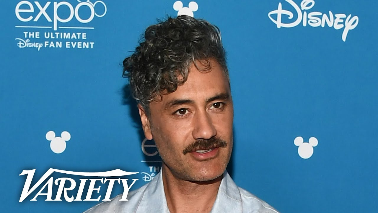Taika Waititi Gets Ambushed by Pedro Pascal During Interview