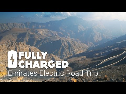 Emirates Electric Vehicle Road Trip | Fully Charged