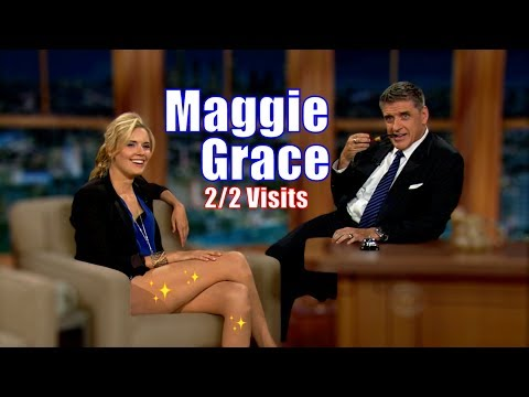 Maggie Grace  Brought Her Legs With Her   22 Appearances In Chron. Order HD
