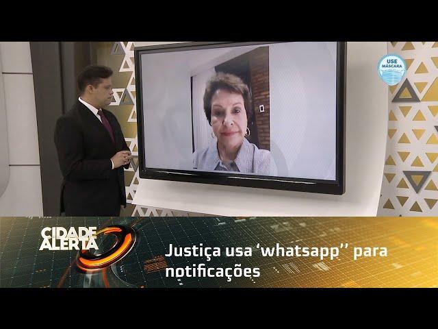 Justiça usa 'whatsapp'' para notificações de processos de paternidade