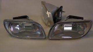Противотуманные LED фары для Chevrolet Lacetti /дальнобойные/(Светодиодные штатные фары на авто. Доработка Тест. Изготовление на примере Лачетти., 2013-11-08T11:32:31.000Z)