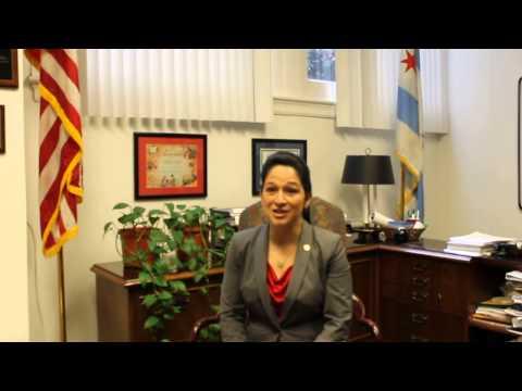 Susana Mendoza, City Clerk of Chicago, at EWC28