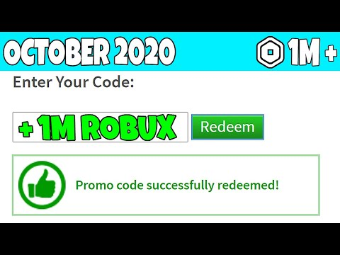 October 2020 All New Promocodes In Roblox Working Youtube