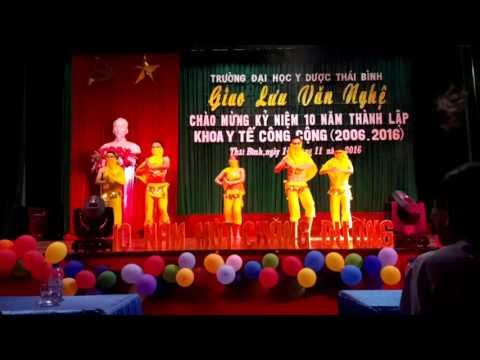 Múa Ấn Độ - girl dam dang lớp YTCCK1 trường Đại học Y Dược Thái Bình