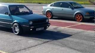 VW Golf II vs. VW Passat B5