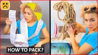 Type Girls Pack A Suitcase!