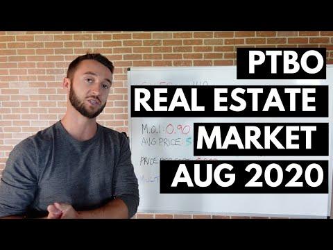 August 2020 Real Estate Market Update - Peterborough Ontario