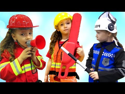 Ulya Pretend Play Toys and Choosing a New Profession for kids