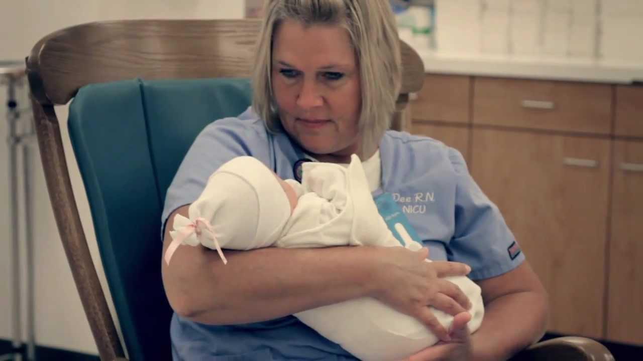 Newborn Nursery - St. Mary's (Evansville, IN) - YouTube
