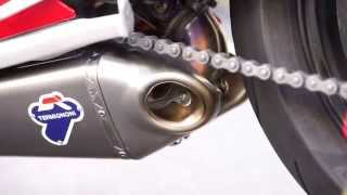 Ducati Panigale 899 Termignoni Exhaust vs Exhaust with dB Killers