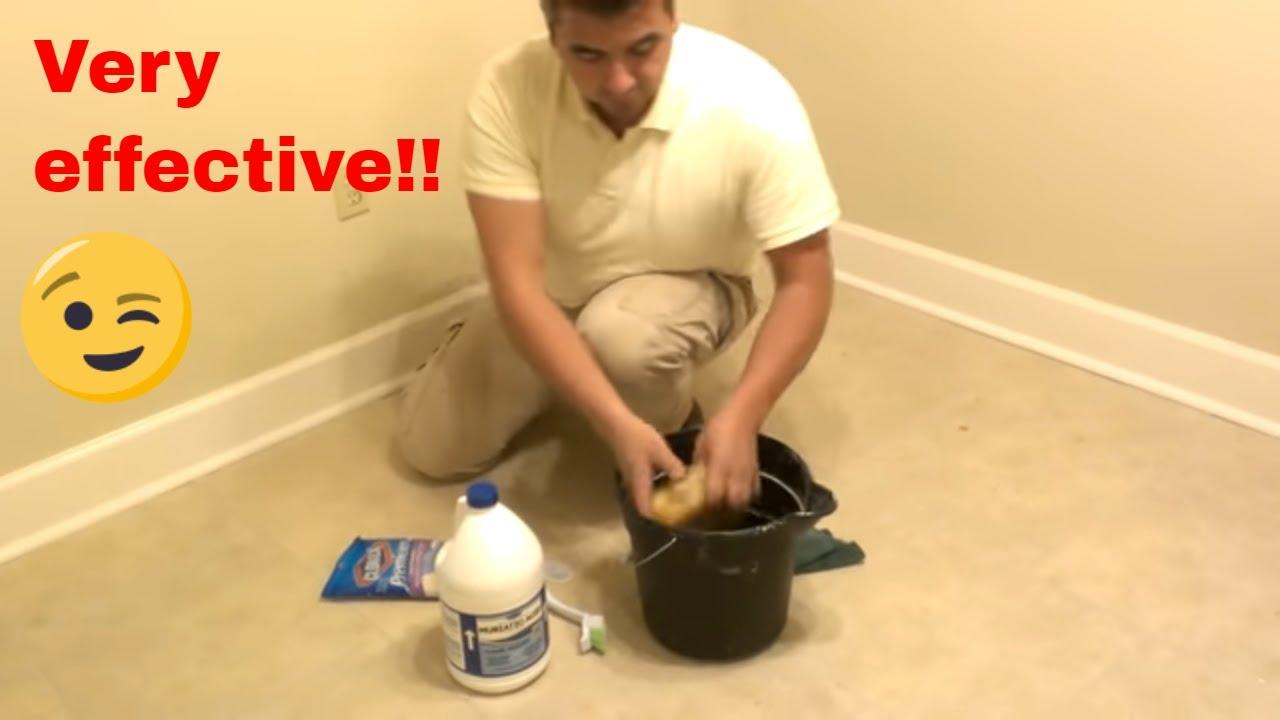How To Clean Floor Tiles Youtube