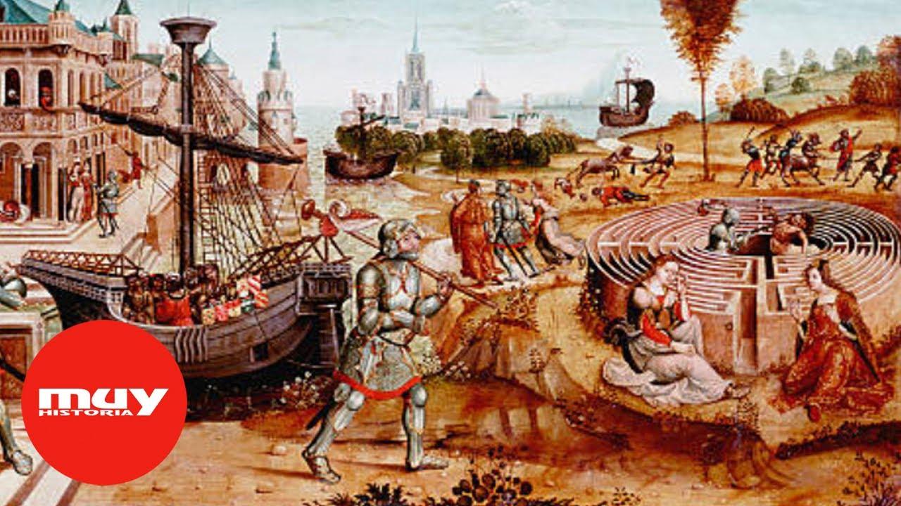 ¿Existió el Laberinto de Creta?