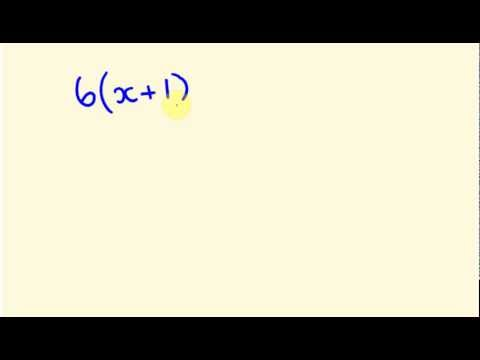 Algebra - expanding and simplifying brackets