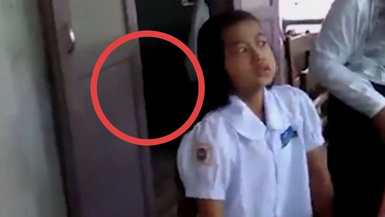 5 Video Huyền Bí được ghi lại trong trường học