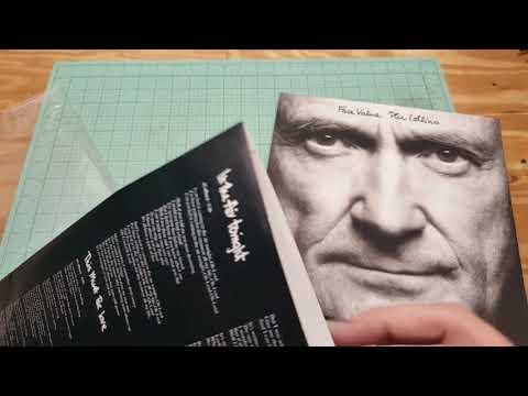 Phil Collins Face Value vinyl 180 gram review unboxing Mp3