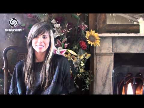 "Christina Perri - Interview ""Jar of Hearts"" With Shazam"