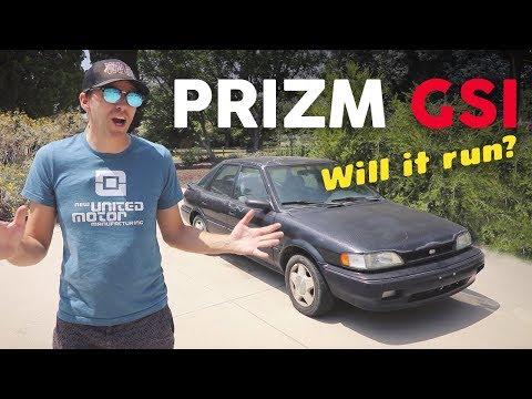 Will This Weird Old Car Ever Run Again? 1991 Geo Prizm GSi