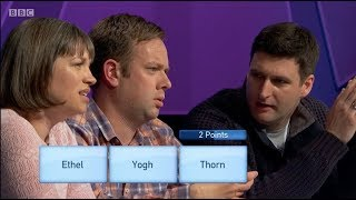 Only Connect, Series 13 Episode 32: Belgophiles v Escapologists. Victoria Coren Mitchell. 26.3.18