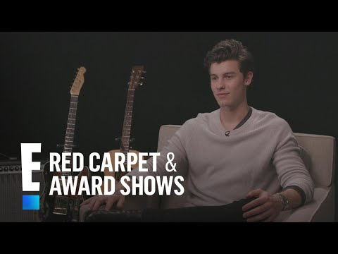 Shawn Mendes Reacts to John Mayers Kind Comments  E!  from the Red Carpet