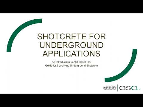 UCA Young Members present: Shotcrete for Underground Applications