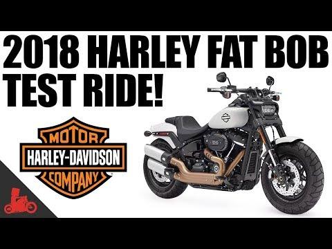 2018 Harley-Davidson Fat Bob 114 Test Ride!
