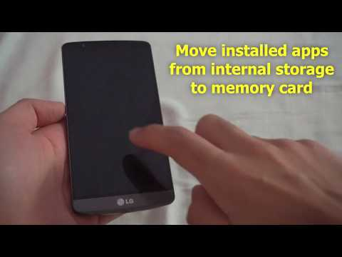 How To Move Android Apps To Sd Card Lg G3 Youtube