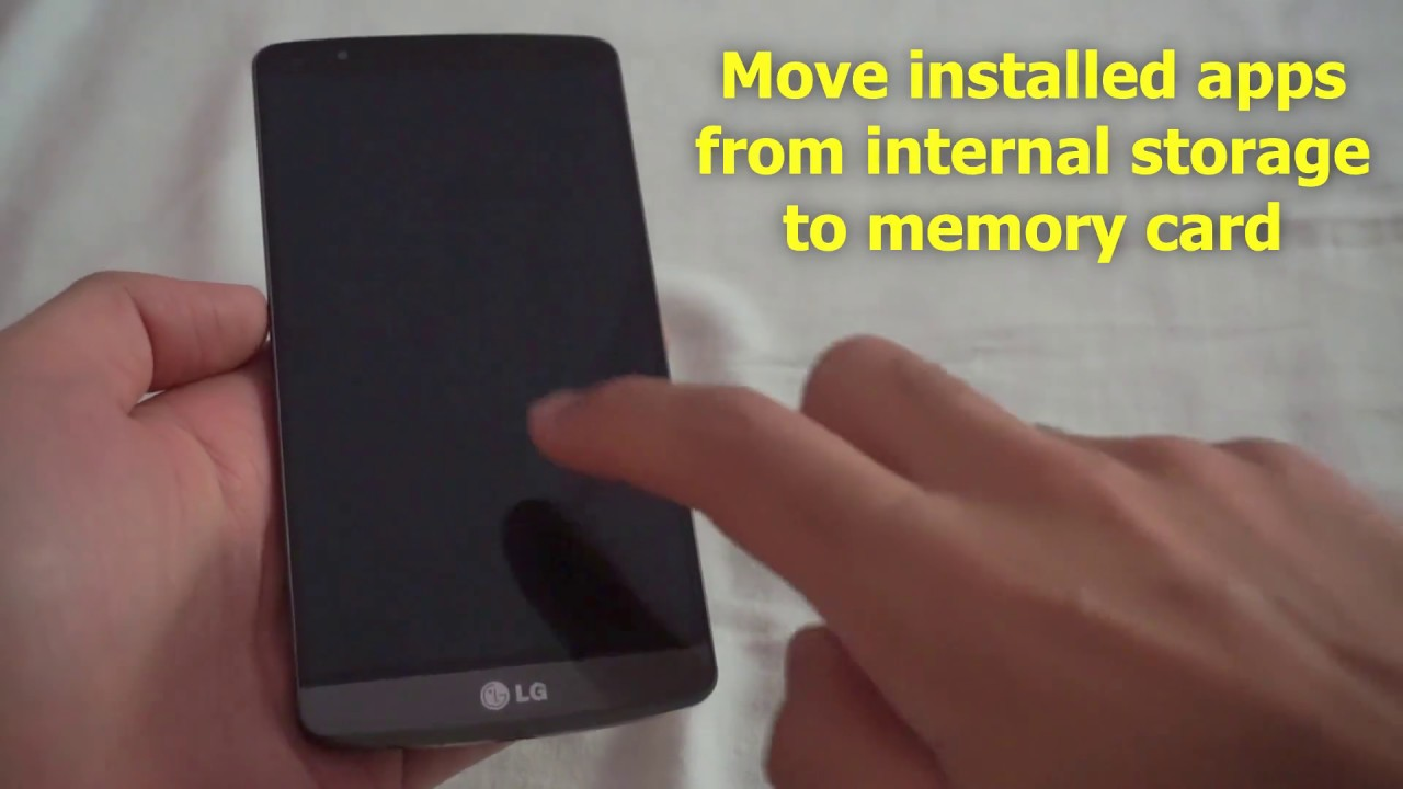 31a27363d How to Move Android Apps to SD Card (LG G3) - YouTube