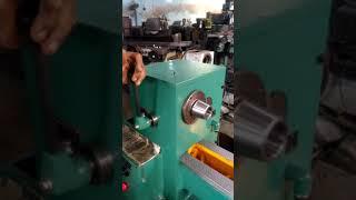 Geared head capstan lathe machine