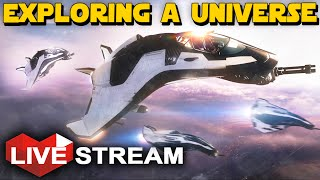 Star Citizen 2.1.1 Gameplay | Exploring a Universe | Live Stream (Part 1)