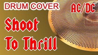 """AC/DC """"Shoot To Thrill"""" (Live At Donington, 1991) - Drum Cover"""