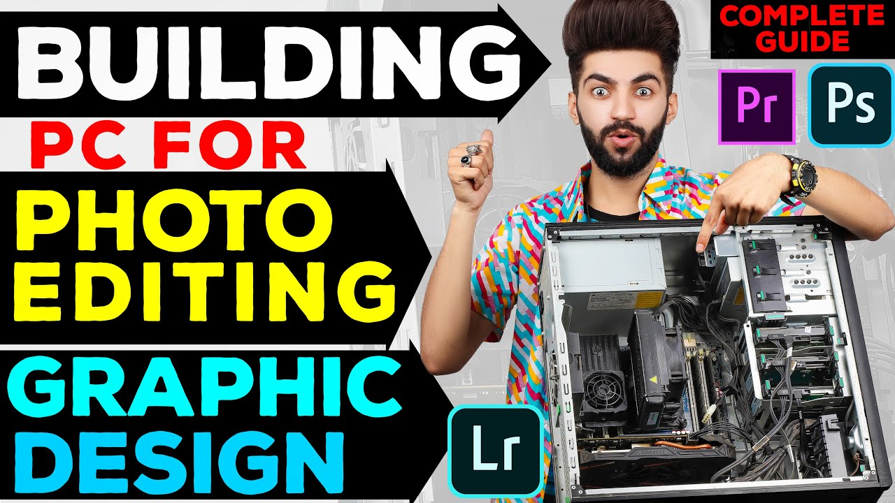 3 Top Pc Builds for Adobe Photoshop in low, mid, high Budget | A to Z Guide | Gaming Pc