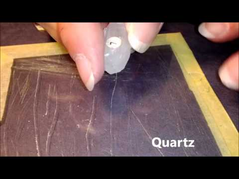 Mineral Hardness Test