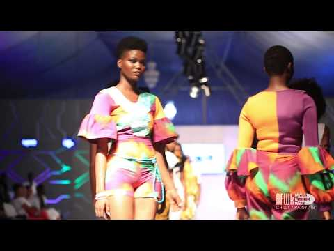 Bri Wireduah (Ghana) @ Accra Fashion Week Chilly Rainy 2018