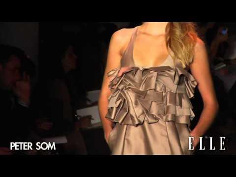 Peter Som. New York Fashion Week otoño invierno 2011/2012