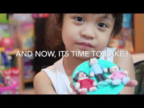 Miakka's World: Polymer Clay  Activity with Sculpey Push Mold Family Time