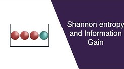 Shannon Entropy and Information Gain