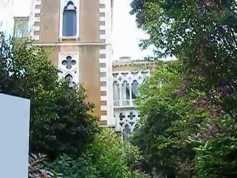 Palazzo Cavalli-Franchetti - garden in Venice