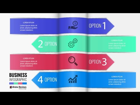 TEMPLATE FOR INFOGRAPHIC NUMBERED LINE BANNERS WEBSITE DOWNLOAD FREE Illustrator Tutorials