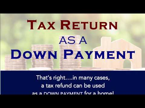 Tax Return As Down Payment