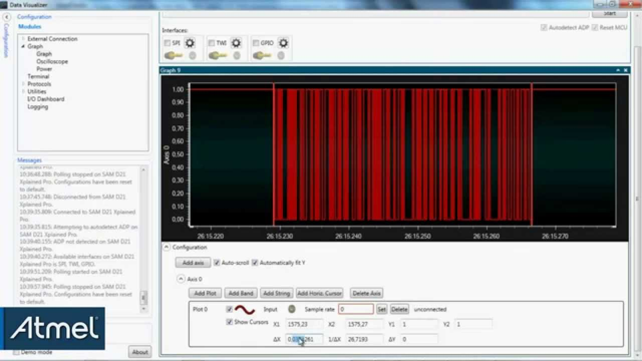 Getting Started with AVR: Understanding USART TX Pin Activity Using the  Data Visualizer (#27)
