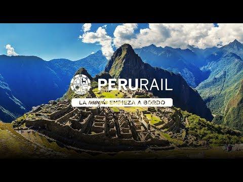 PeruRail - La Magia empieza a bordo