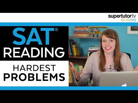 😰The Hardest SAT Reading Problems!!😰